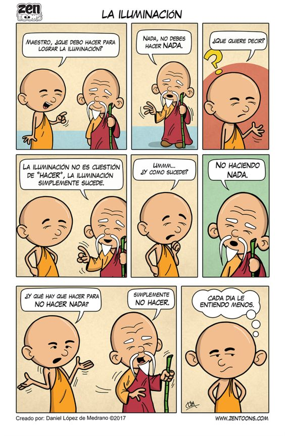 003. ZEN TOONS: La Iluminación – Zen Toons – Sabiduría Ancestral en Cartoons