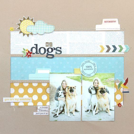 My Dogs - Scrapbook.com