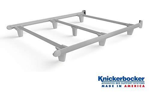 Knickerbocker Embrace Designer Foundation Queen Size White Bed