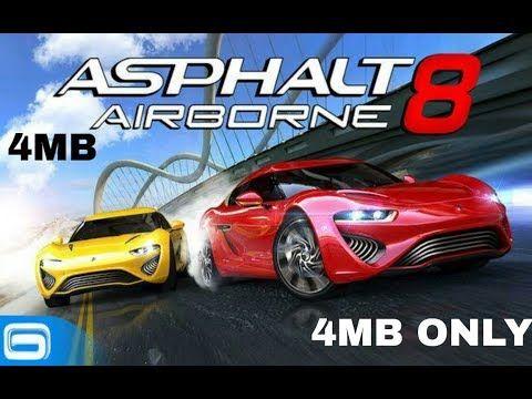 Asphalt 8 Airborne 4mb Highly Compressed Obb File For Android