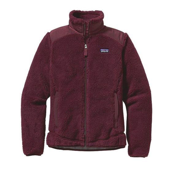 Patagonia Women\'s Retro-X Fleece Jacket - Dark Currant DKCT