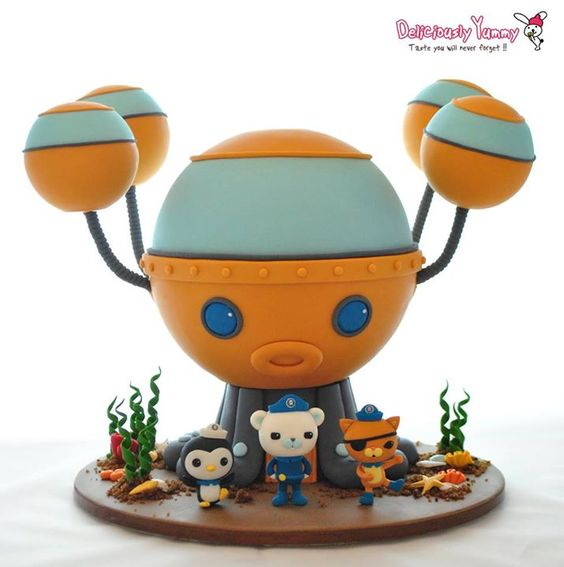 Octonauts cake Celebration Cakes Pinterest Cakes and ...
