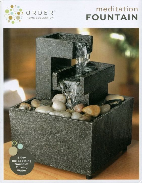 A small tabletop meditation fountain. | 21 Chill Gifts To Get You Through The Holiday Season