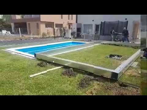 Arquiplast Cobertores Para Piscina Decks Cubierta Movil Youtube