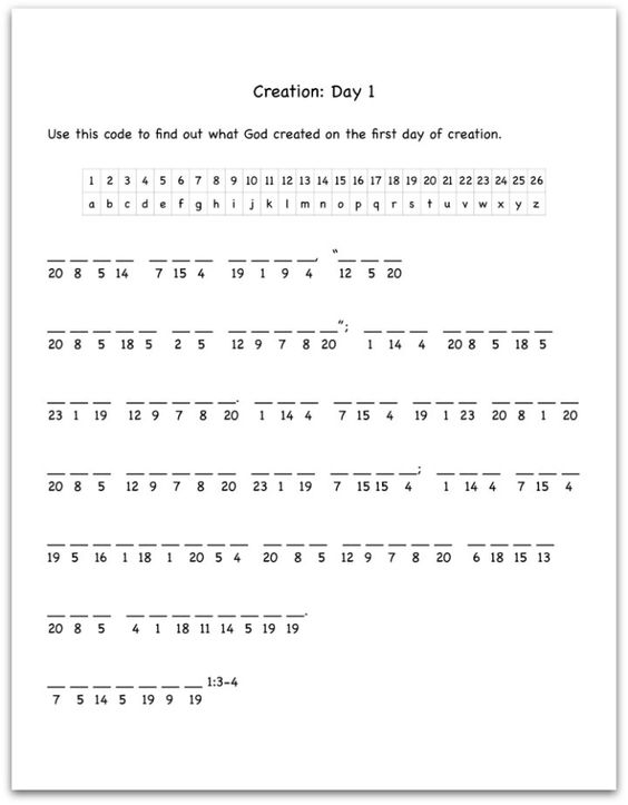 Free Decoding Worksheets For Kids