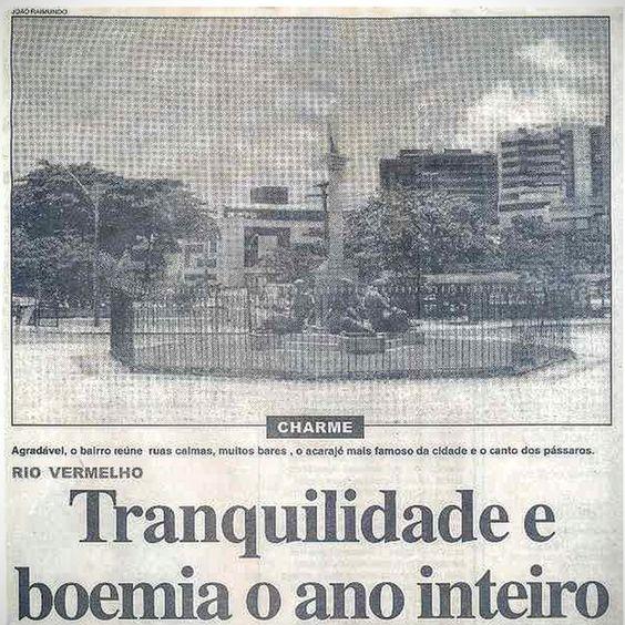 Blog do Rio Vermelho, a voz do bairro: O Rio Vermelho já foi assim: Tranquilidade e boemi...