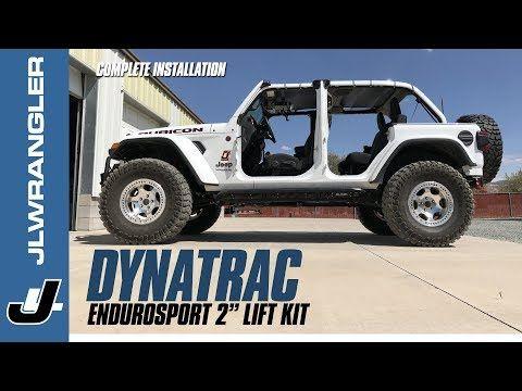 Jeep Jl Wrangler Lift Kit Installation Dynatrac Endurosport 2