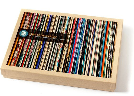 Vinyl Collection Puzzle - lol that is going to be annoying but fun