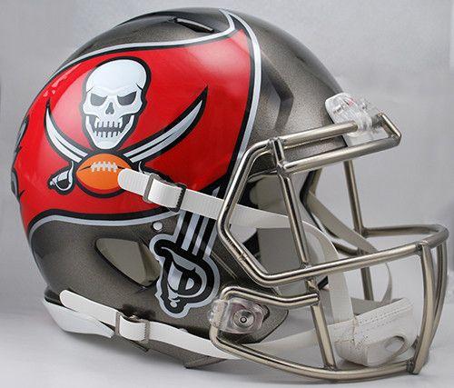 Tampa Bay Buccaneers Revolution Speed Pro Line Helmet