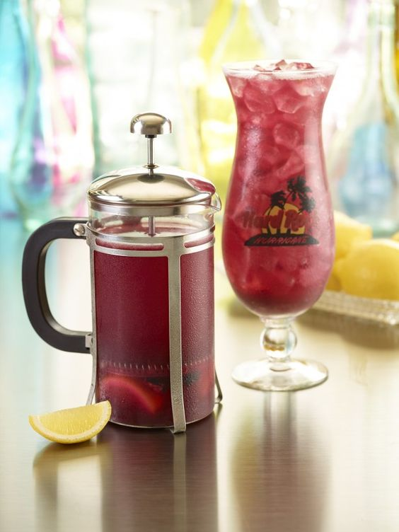 Hard Rock Cafe Blue Drink Recipe