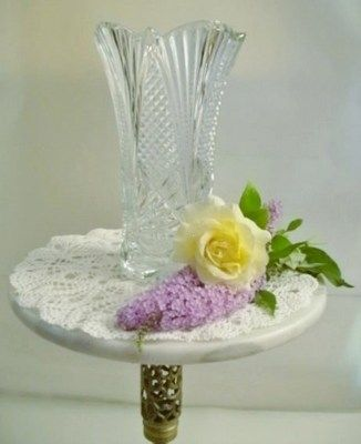 ✿*¨* #Gorgeous Large #Imperial Lead #Crystal #Vase Just Listed! Buy It Now Priced! ¨*•✿ ➳➳ http://r.ebay.com/pa0AZN #ebay #home #office #décor