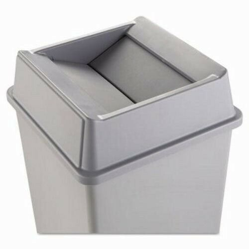 Rubbermaid 2664 Untouchable Squareswing Top Trash Can Lid Gray