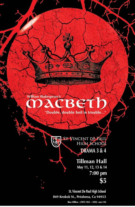 thesis statement for macbeth blood William shakespeare's play ''macbeth'' contains many images and quotes about blood these quotes help develop one of the main themes of the play.