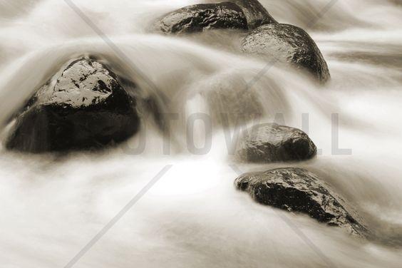 Water and Rocks - Canvas Print & Canvas Art - Photowall