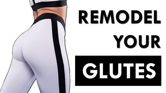 REMODEL Your Glutes (Bigger & Rounder) in 9 Minutes | Best Exercises For Glutes