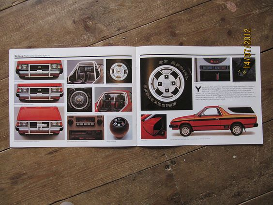 American Subaru BRAT brochure from 1982 pages 8 and 9 | by Sholing Uteman