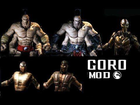 Mortal Kombat XL ALL GORO MKXL Costume Skin PC MOD MK9 MK1