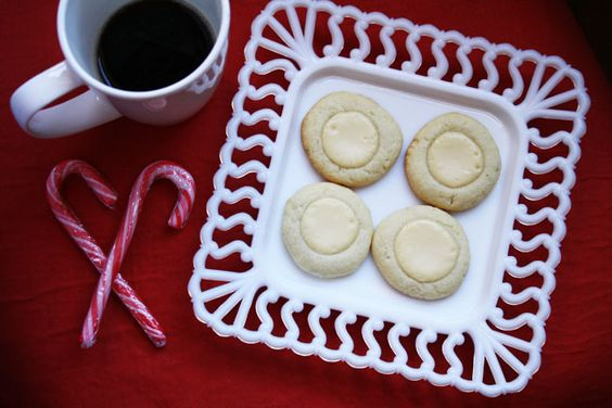 Goat Cheese and Lime Cheesecake Thumbprints