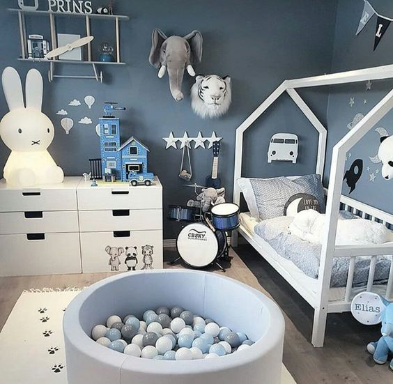 Cool Scandinavian Kids Room