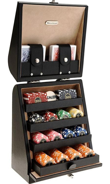 renzo romagnoli poker set