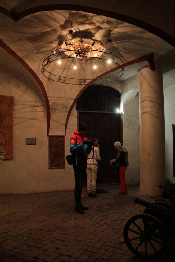 Castle St. Miklos in Chinadievo. Ukraine
