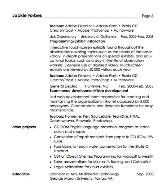Multimedia Specialist Resume Sample - http\/\/resumesdesign - accounts receivable specialist resume