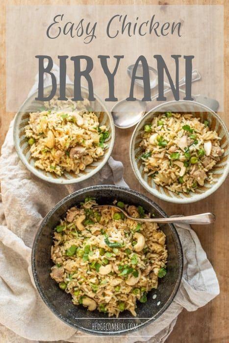 Easy Chicken Biryani Recette Recette Cuisine Du Monde Gastronomie