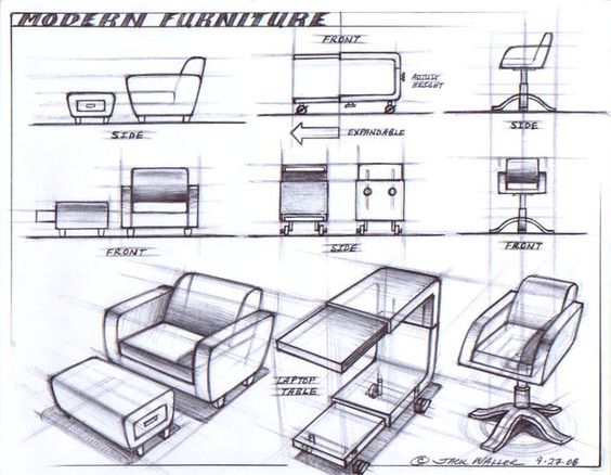 Chair sketch design ideas inspiring furniture sketches design ideas