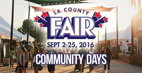 2016 LA County Fair Community Days