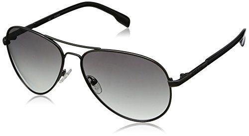 Michael Kors Damen MKS167 Oval Sonnenbrille, Grey frame/Grey lens (033)