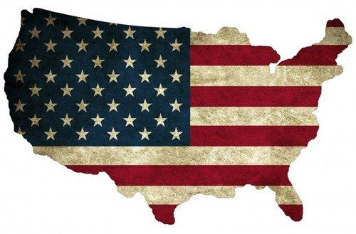 Usa Flag Map Plasma Shape Metal Sign 19 x 13 Inches | United states flag, Flag, American flag case