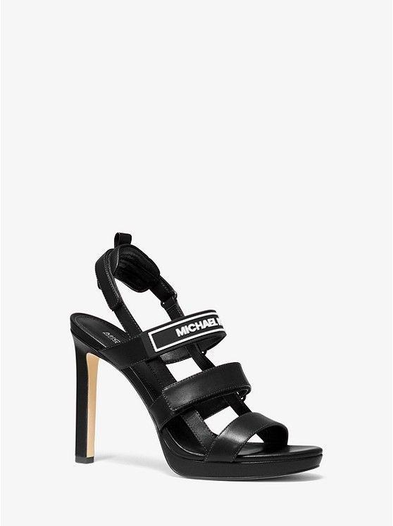 Demi Leather Sandal | Michael Kors
