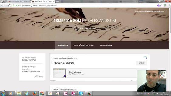 Hacer exámenes con Google+