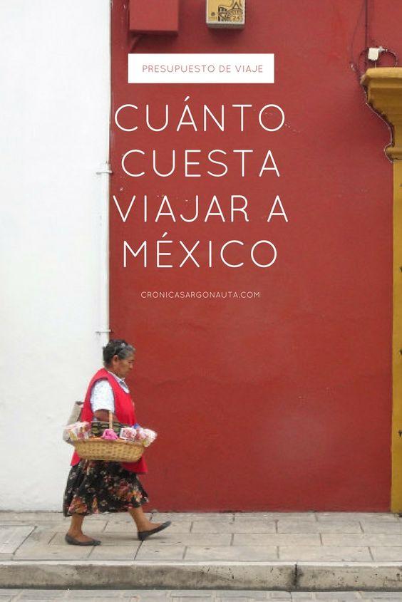 ¿Sabes cuánto cuesta viajar a México? Aquí tienes todos los gastos detallados para que calcules tu presupuesto de viaje a México.