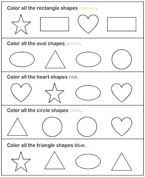Printable Learning Activities For 2 Year Olds And Printable Worksheets For 3 Year Old Shapes Worksheet Kindergarten Shapes Worksheets Free Preschool Worksheets Worksheet for 2 year old