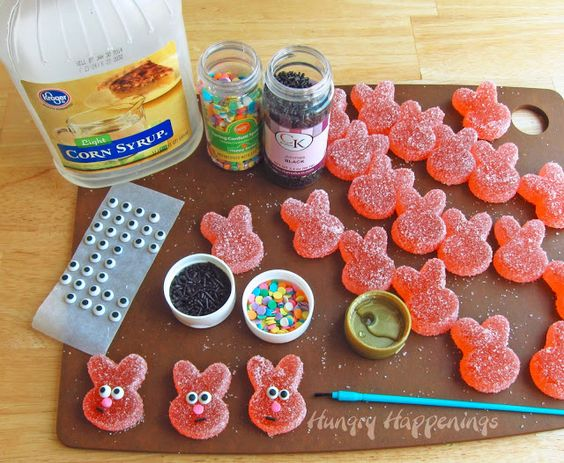 Fill your Easter Baskets with Homemade Sour Gummy Bunnies