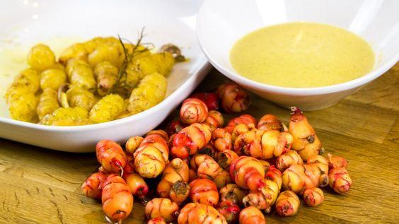 Oca Rezepte, die andere Knolle aus Peru on http://derbiokoch.de