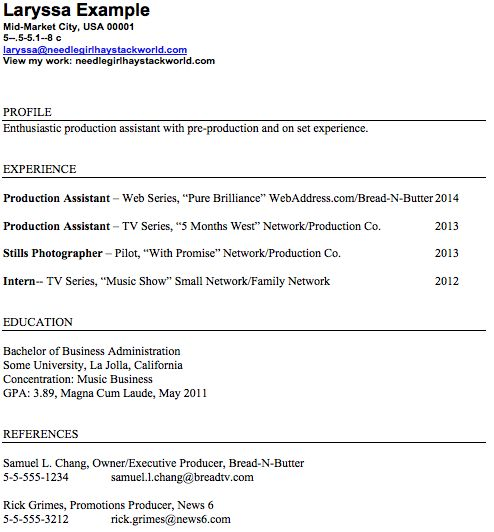 Marketing Job Resume film crew resume cover letter cpa resume examples of  sales cover letters professional VisualCV