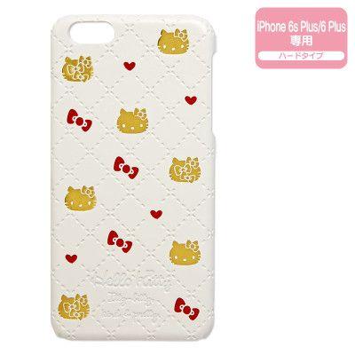 Hello Kitty iPhone 6 6s Plus Hard Cover Case Heart SANRIO JAPAN