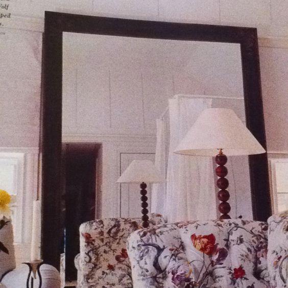Love big mirrors