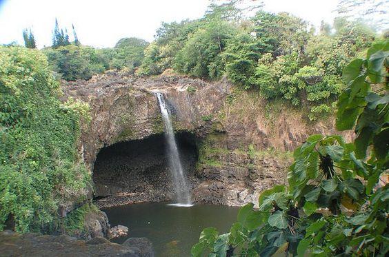 Rainbow Falls, Hilo Hi.