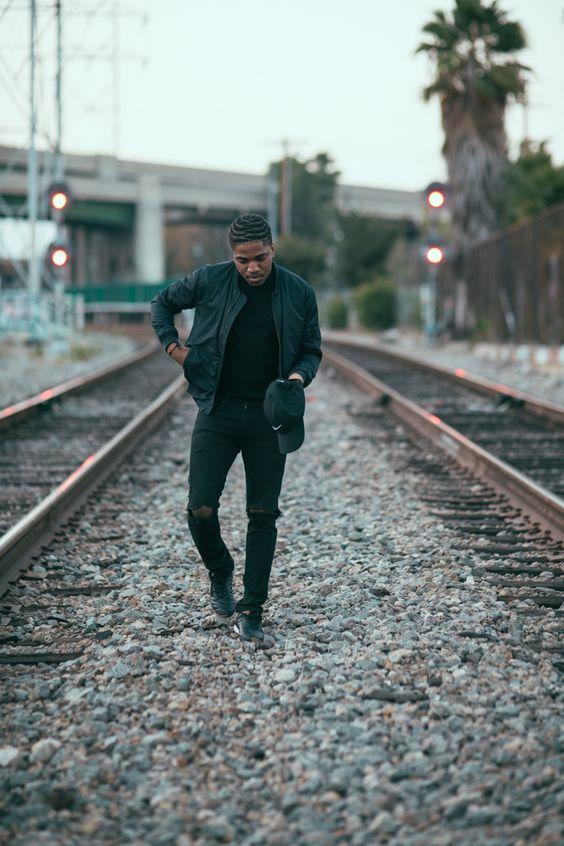 BLACK FASHION | Sonny Shotz, 25 years old, Los Angeles  Wearing:...