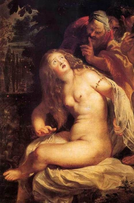 Peter Paul Rubens. Susanna and the Elders
