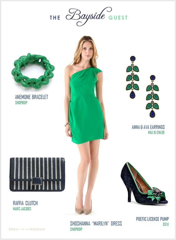 Bayside Wedding Guest | Dress for the Wedding