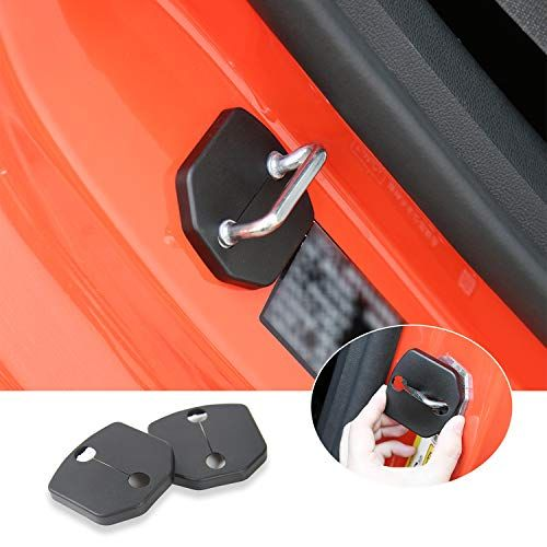 Voodonala For Ford Mustang 2015 2016 Abs Door Lock Striker Buckle Cover Decor Trim 1 Pair With Images Mustang Cover Striker