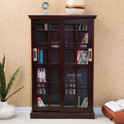Wildon Home ® Broxton Sliding Door Media Cabinet & Reviews   Wayfair