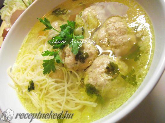 A legjobb Alföldi húsgombóc leves recept fotóval egyenesen a Receptneked.hu gyűjteményéből. Küldte: Szani konyhája