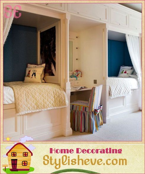 Modern Kids Bedroom ideas that are keeping a small space organized!