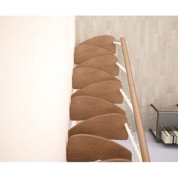 Escalier pas japonais zen droit en bois et m tal 11 - Escalier droit leroy merlin ...