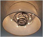Jessica Bodner sculptural steel custom chandeliers